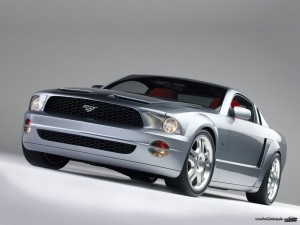 Ford Mustang GT Coupe Concept 2003 1600x1200