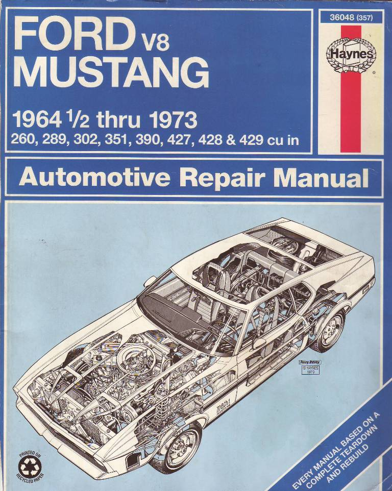 pdf ford mustang 1994-2004 haynes repair manual usa
