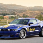 2 Ford Mustang Blue Angels created for EAA AirVenture