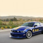 3 Ford Mustang Blue Angels created for EAA AirVenture