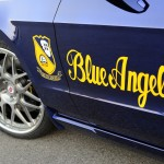 9 Ford Mustang Blue Angels created for EAA AirVenture