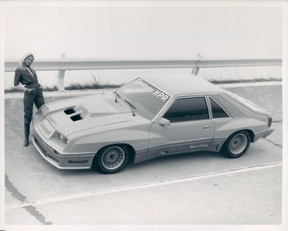 McLaren M81 Mustang
