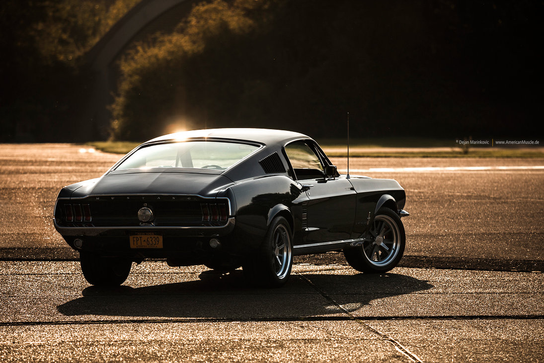 1967 Ford Mustang Fastback Wallapaper