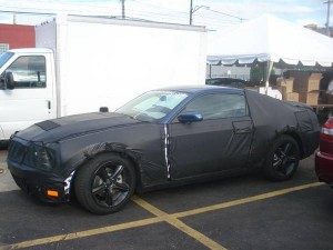 2010 Ford Mustang Shelby GT500KR Spy Photos