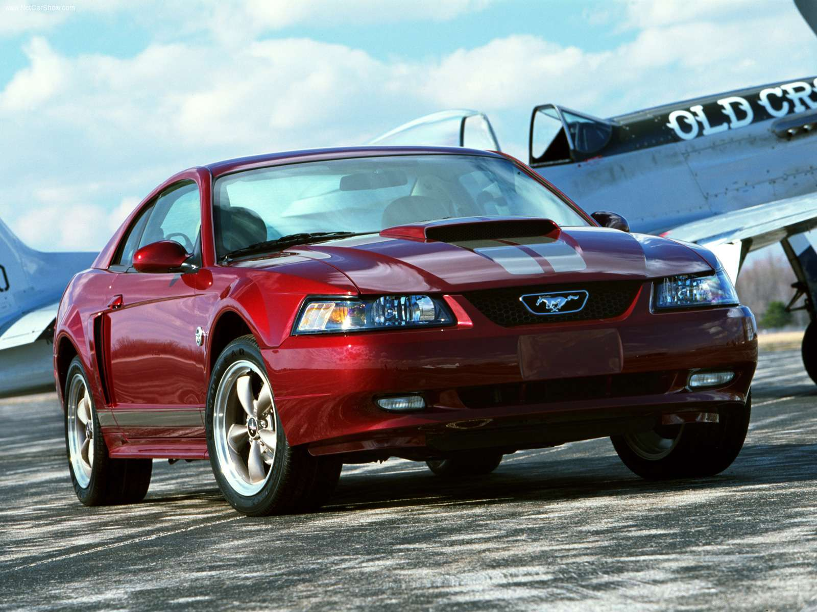 Ford Mustang Ford Mustang Bullitt Ford Mustang Shelby Gt Blog Archive Ford Mustang 40th Anniversary 2004 01