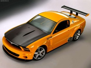 Ford Mustang GTR 40th Anniversary Concept (2004) 02