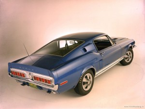 Ford Mustang Shelby 1968-1969