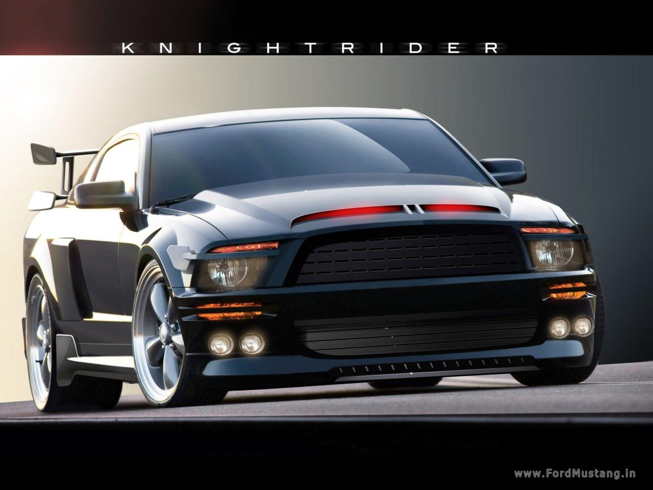 Knight Rider Ford Mustang Ford Mustang Bullitt Ford