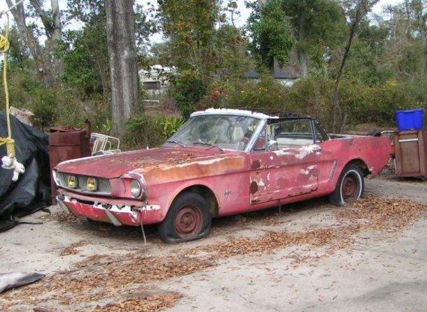 Rusting Mustang