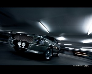 Ford Mustang Shelby GT500 Eleanor (Gone in 60 Seconds)