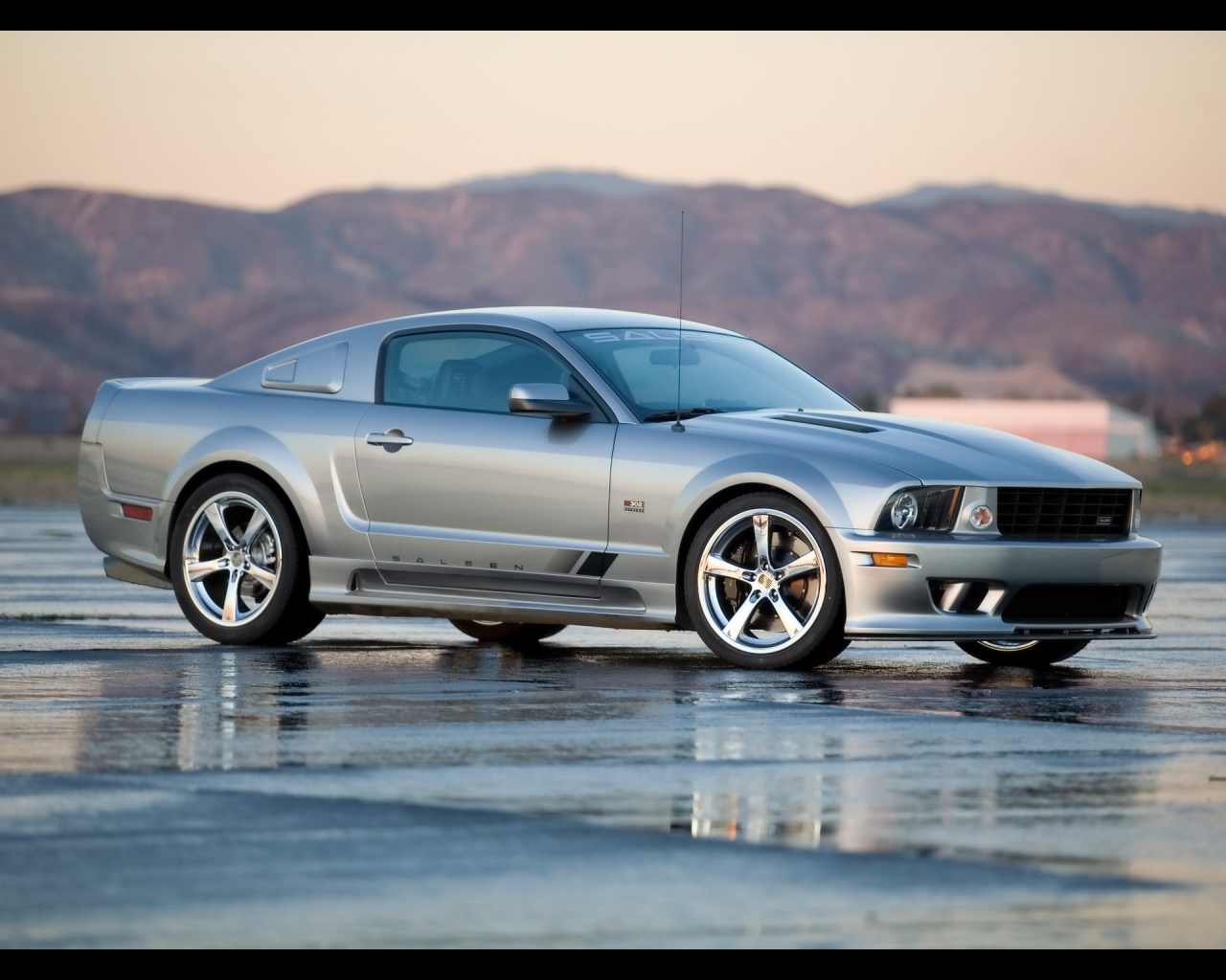 Saleen Mustang S302 Extreme 2008 Wallpapers Ford