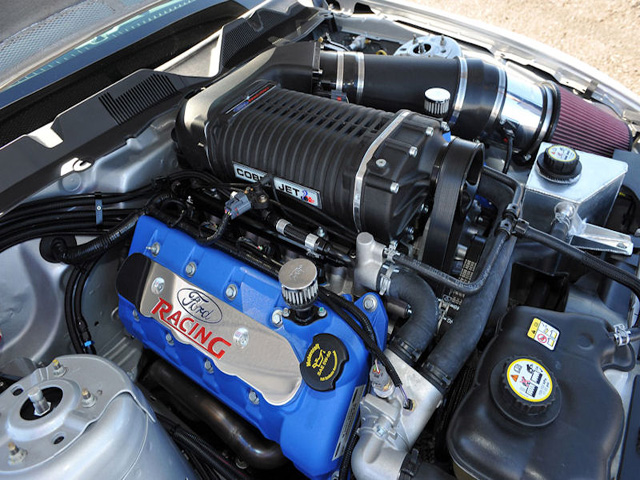 2012 Ford Mustang Cobra Jet Engine