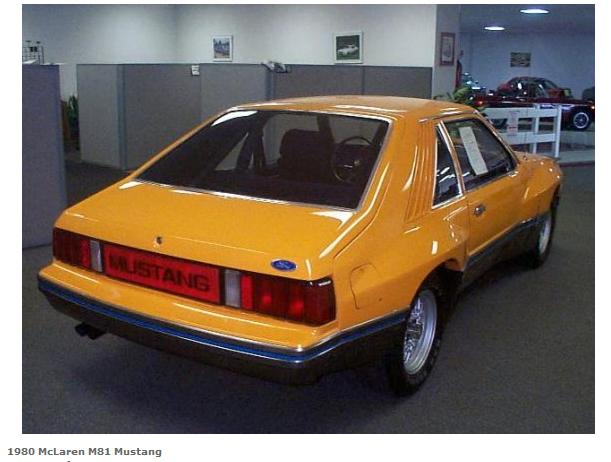 McLaren M81 Mustang | Ford Mustang, Ford Mustang Bullitt ...