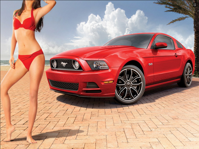 New Ford Mustang Photoshoot